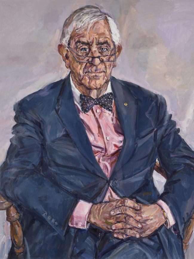 Lewis Miller Portrait of Bernie Teague 2