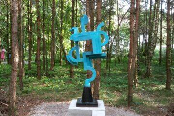 Jock Clutterbuck exhibits in The Sculpture Park Wesenberg, Germany