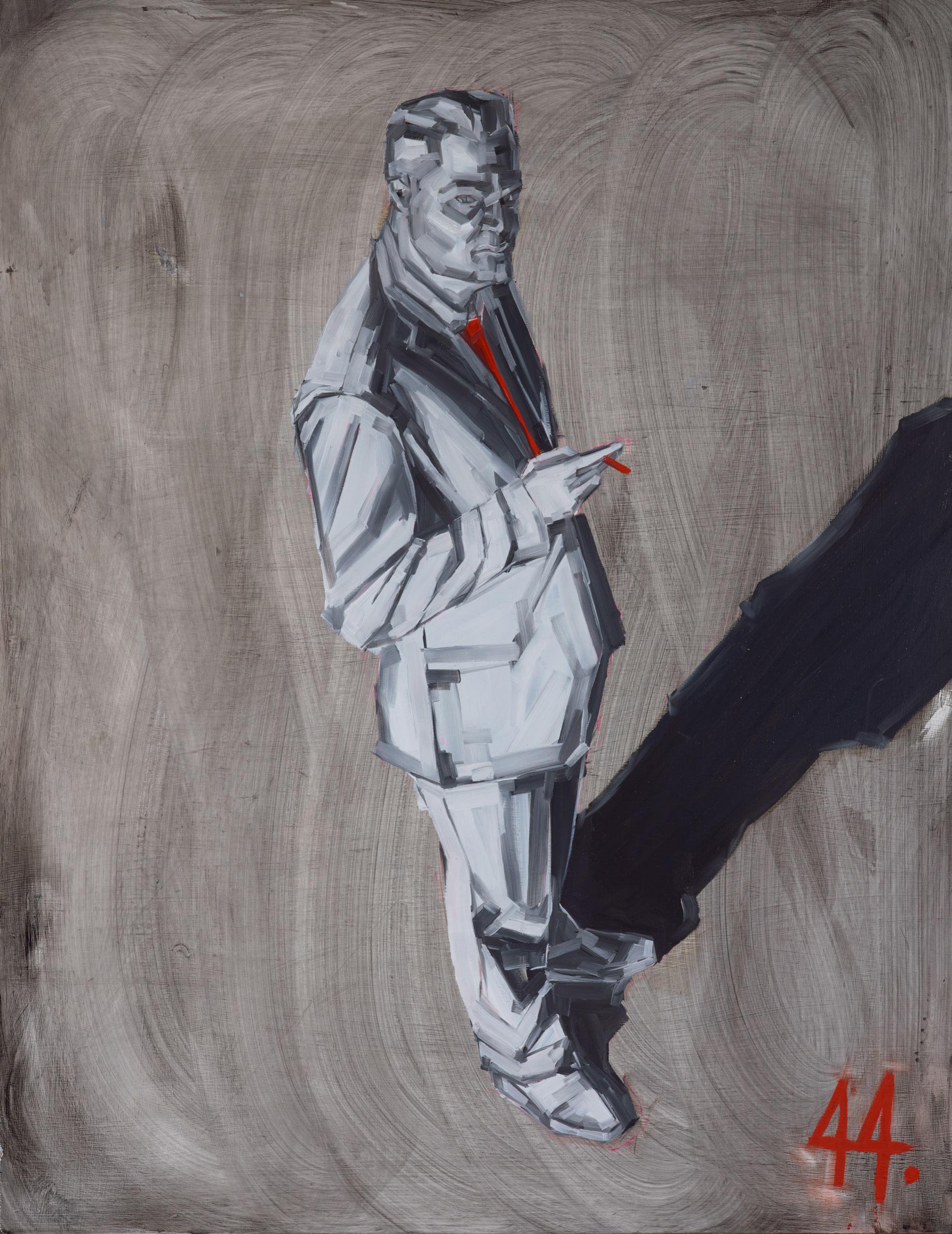 Dean Brown Mclean Edwards oil on board 93 x 73 cm