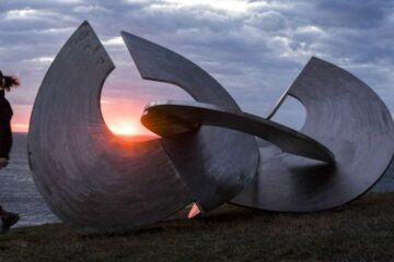 Sun rises on Sculpture by the Sea as it celebrates 20th year