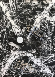 Study for 'The Ulysses Suite'- Pollock