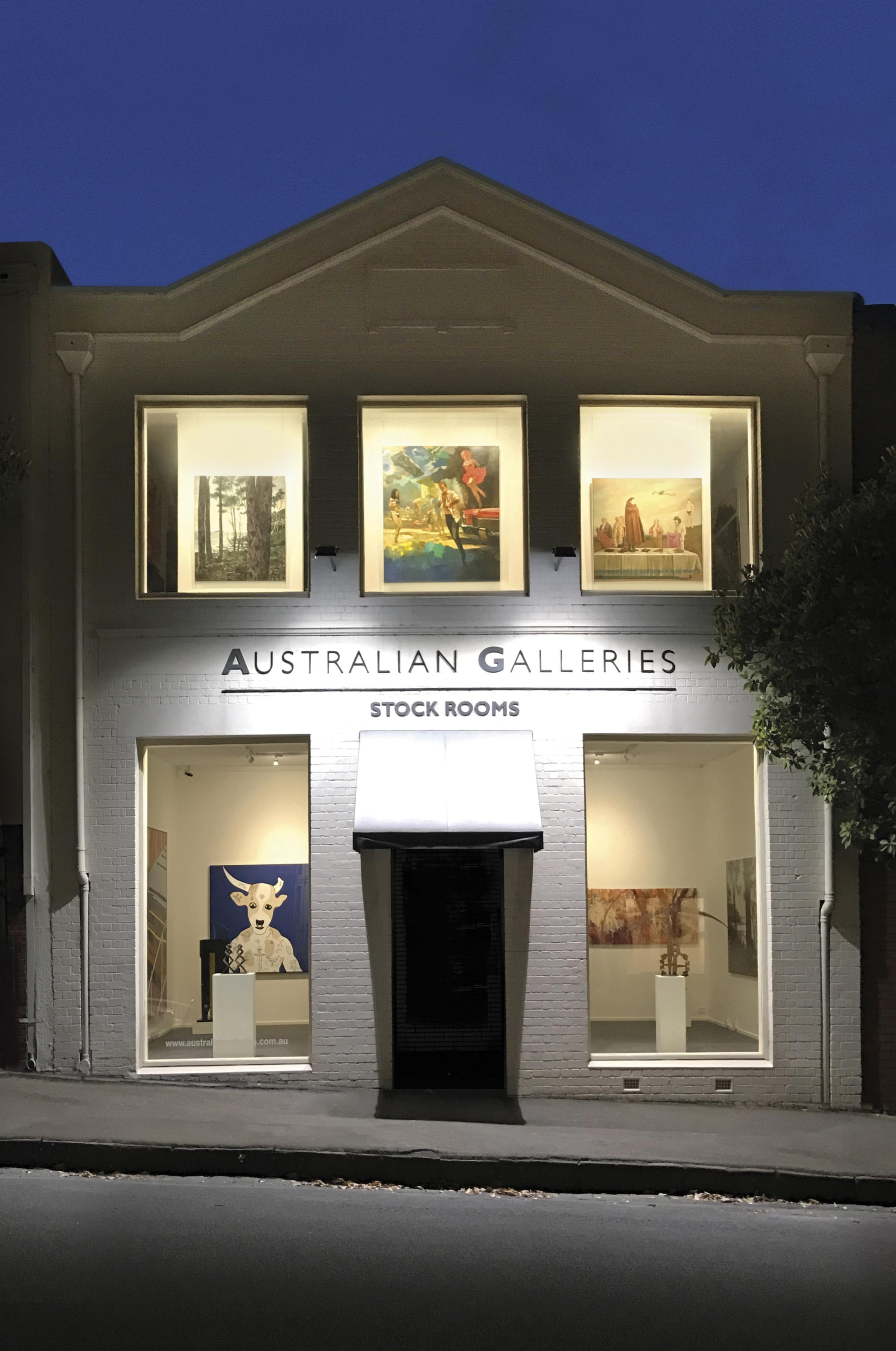 Australian Galleries Stock Rooms Exterior